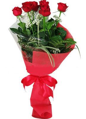 7 adet kirmizi gül buketi  Ordu yurtiçi ve yurtdışı çiçek siparişi
