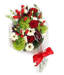 Karisik mevsim buketi çiçek tanzimi  Ordu internetten çiçek satışı