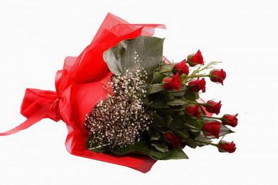 Ordu hediye çiçek yolla  11 adet kirmizi gül buketi çiçekçi