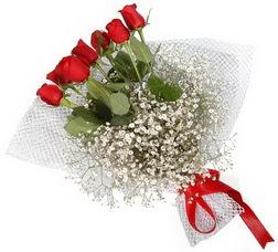 7 adet kirmizimi kirmizi gül buketi  Ordu 14 şubat sevgililer günü çiçek