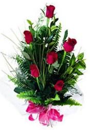Ordu çiçek mağazası , çiçekçi adresleri  5 adet kirmizi gül buketi hediye ürünü