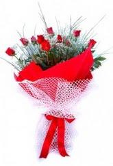 Ordu online çiçekçi , çiçek siparişi  9 adet kirmizi gül buketi demeti