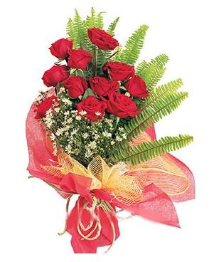 Ordu online çiçekçi , çiçek siparişi  11 adet kırmızı güllerden buket modeli
