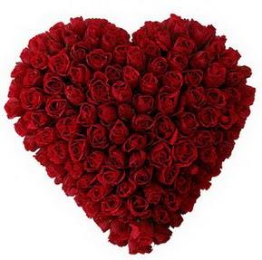 Ordu ucuz çiçek gönder  muhteşem kırmızı güllerden kalp çiçeği