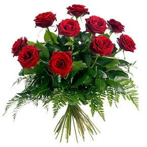 Ordu çiçek gönderme sitemiz güvenlidir  10 adet kırmızı gülden buket