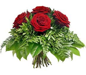 Ordu çiçek online çiçek siparişi  5 adet kırmızı gülden buket
