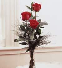 Ordu çiçekçi mağazası  Vazoda 3 adet güzel gül