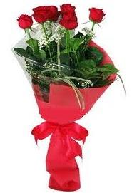 Çiçek yolla sitesinden 7 adet kırmızı gül  Ordu çiçekçi mağazası