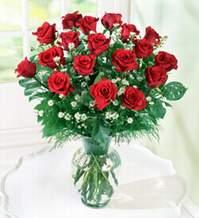 Ordu çiçekçi mağazası  9 adet mika yada vazoda kirmizi güller