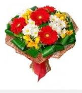 1 demet karışık buket  Ordu 14 şubat sevgililer günü çiçek