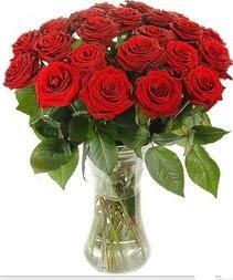 Ordu çiçek online çiçek siparişi  Vazoda 15 adet kırmızı gül tanzimi