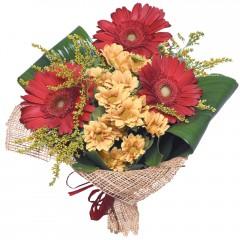 karışık mevsim buketi  Ordu ucuz çiçek gönder