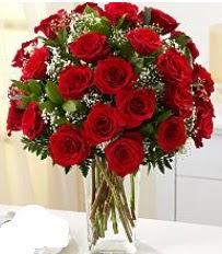 Vazo içerisinde 33 adet kırmızı gül  Ordu çiçek siparişi vermek