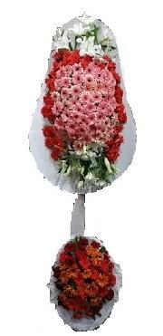 çift katlı düğün açılış sepeti  Ordu çiçekçi mağazası