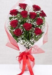 11 kırmızı gülden buket çiçeği  Ordu cicekciler , cicek siparisi