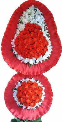 Ordu internetten çiçek siparişi  Çift katlı kaliteli düğün açılış sepeti