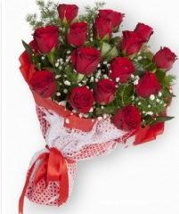 11 adet kırmızı gül buketi  Ordu online çiçek gönderme sipariş
