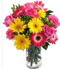 Vazoda Karışık mevsim çiçeği  Ordu ucuz çiçek gönder