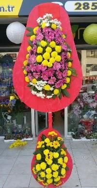 Çift katlı düğün nikah açılış çiçek modeli  Ordu internetten çiçek siparişi