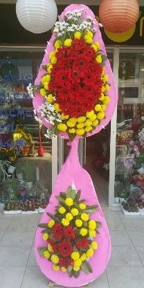 Çift katlı düğün nikah açılış çiçek modeli  Ordu çiçek siparişi sitesi