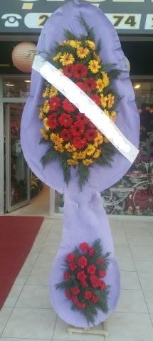 Çift katlı nikah düğüne çiçek modeli  Ordu internetten çiçek satışı