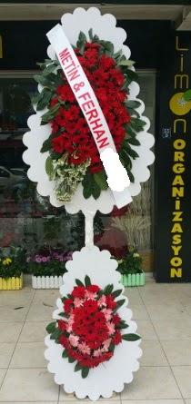 Çift katlı düğün nikah çiçeği modeli  Ordu hediye çiçek yolla