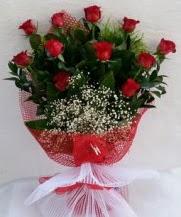 11 adet kırmızı gülden görsel çiçek  Ordu çiçek gönderme