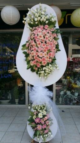 Çift katlı özel şahane sepet çiçeği  Ordu çiçek yolla