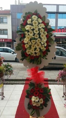 Çift katlı düğün açılış çiçeği  Ordu çiçek gönderme