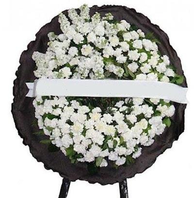 Cenaze çelengi çiçeği modelleri  Ordu çiçekçi mağazası