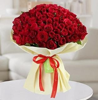 101 adet kırmızı gül buketi koca demet  Ordu internetten çiçek satışı