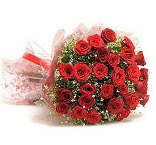 27 Adet kırmızı gül buketi  Ordu çiçek satışı