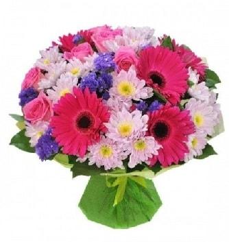 Karışık mevsim buketi mevsimsel buket  Ordu çiçek gönderme